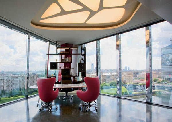 7 Modern Office Interiors in Different Styles, Home Office