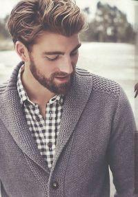Aw yeah, the shawl collared sweater.   Mah maaan ...