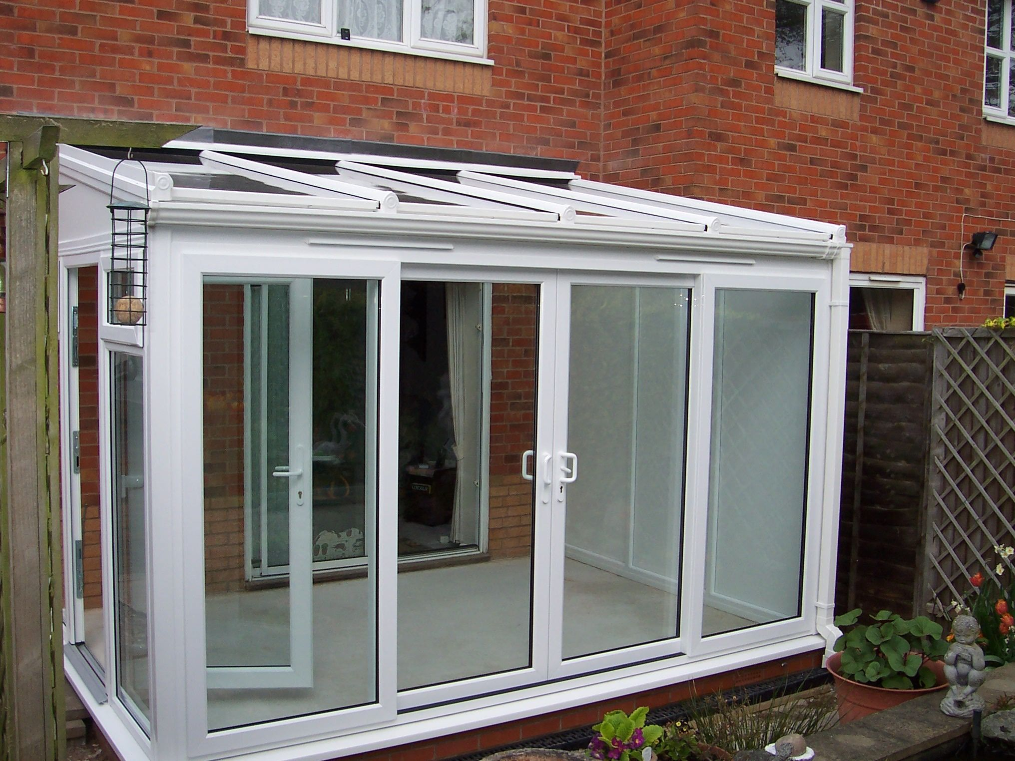 Lean To Conservatories Small Finesse Windows Co Uk