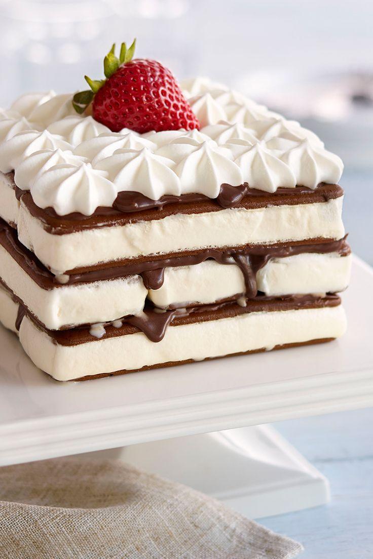 Frozen Ice Cream Sandwich Cake