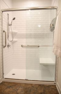 Updated Bathroom Remodel, Shower Seat, Handheld Shower ...
