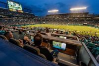 Miami Dolphins Living Room Boxes at Sun Life Stadium in ...
