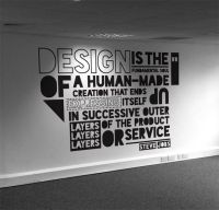 Typographic quote | Typography | Pinterest | Walls, Office ...