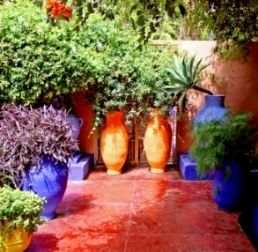 A Moroccan Style Garden Is Useful & Low Maintenance For Hot And