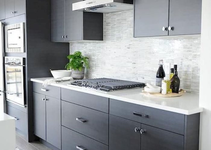 best farmhouse gray kitchen cabinets decor ideas also grey