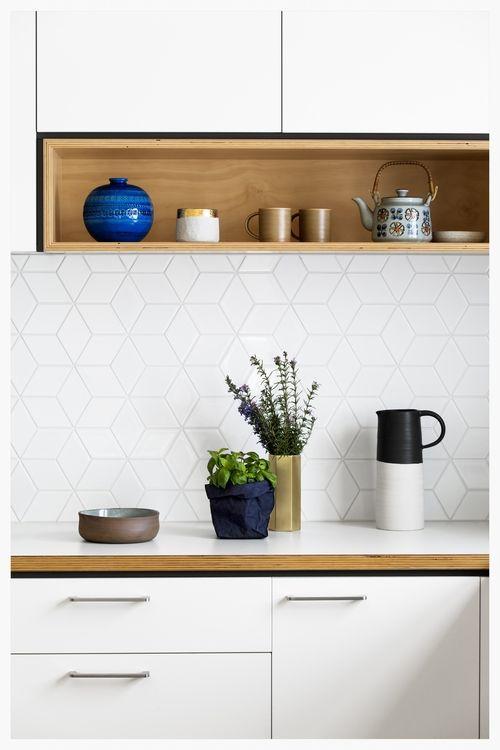 Modern Kitchen Splashback Tiles