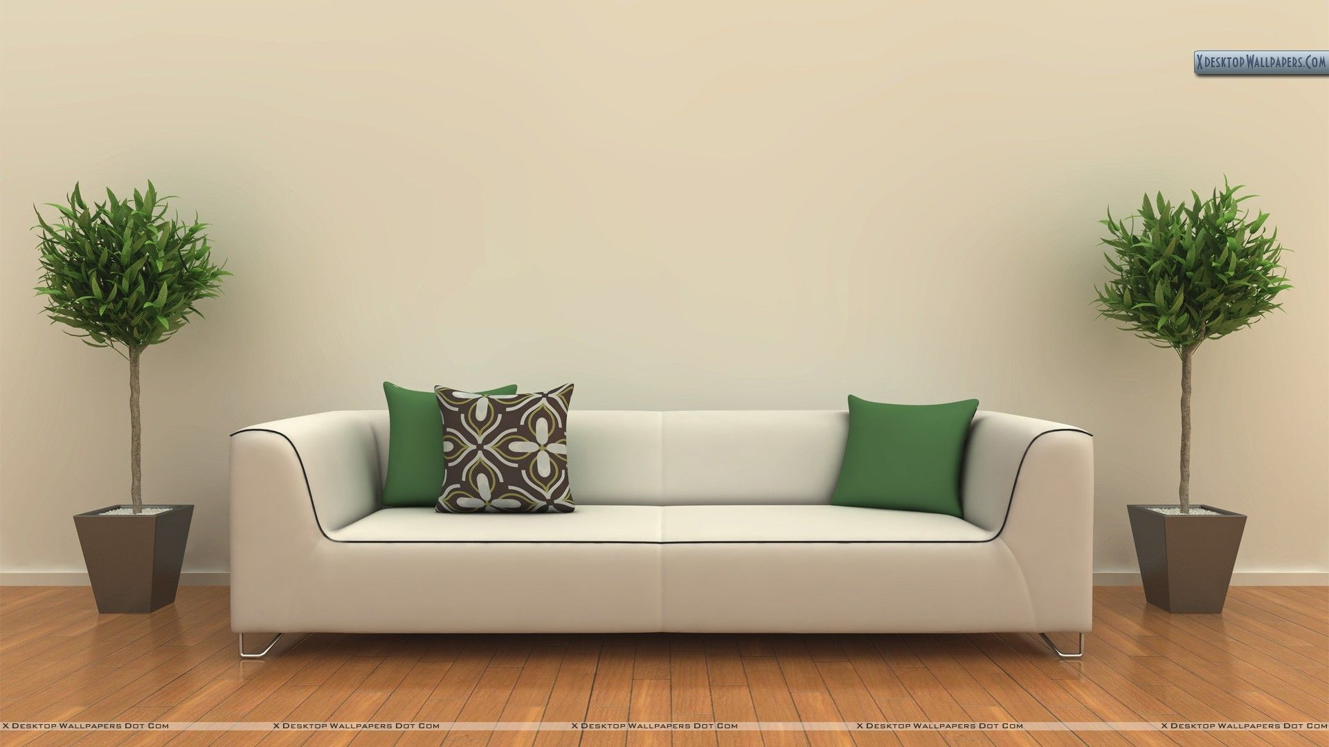 wall sofa marks and spencer loft corner blank living room with
