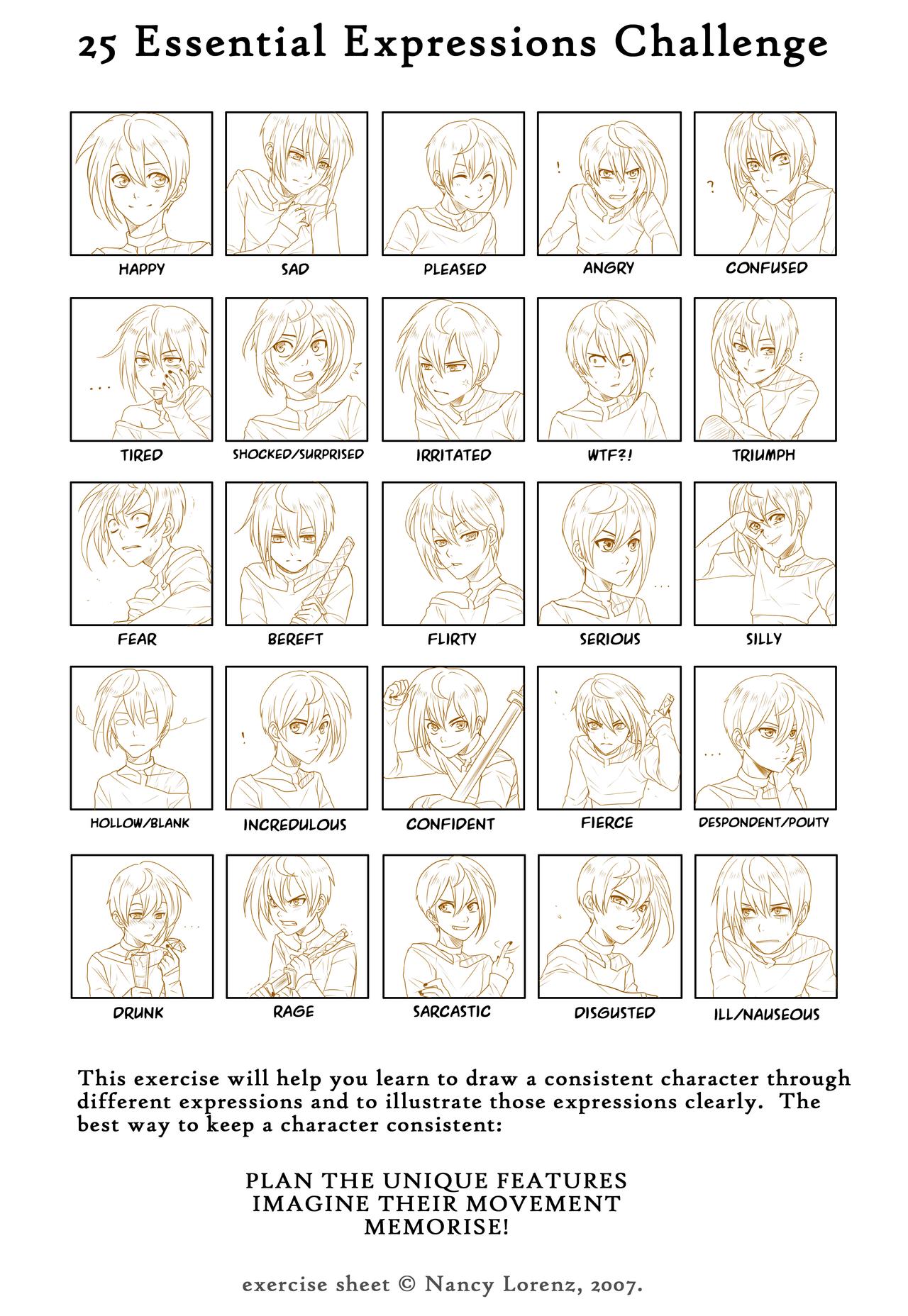 25 Essential Expressions Meme By Go Devil Daisukeviantart On Deviantart
