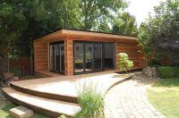 7m x 4m Cedar Garden Office, Garden Studio, Summerhouse ...