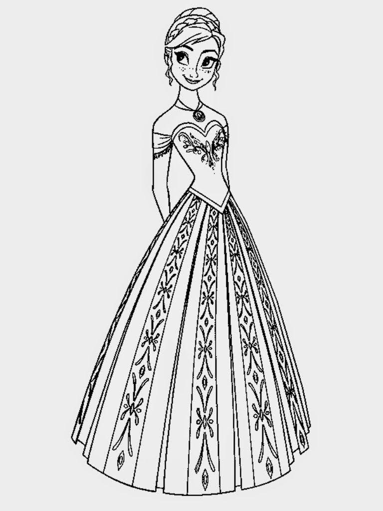 Princess Coloring Pages All Things Disney Pixar Pinterest
