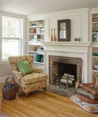 Farmhouse Fireplace on Pinterest | Rustic Fireplace ...