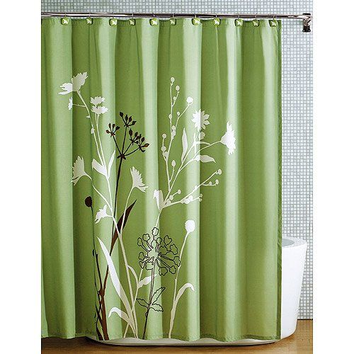 Amazon Com Beautiful Green Brown Bird Nature Modern Flower Fabric