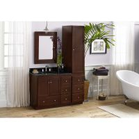Ronbow Shaker 36-inch Bathroom Vanity Set in Dark Cherry ...