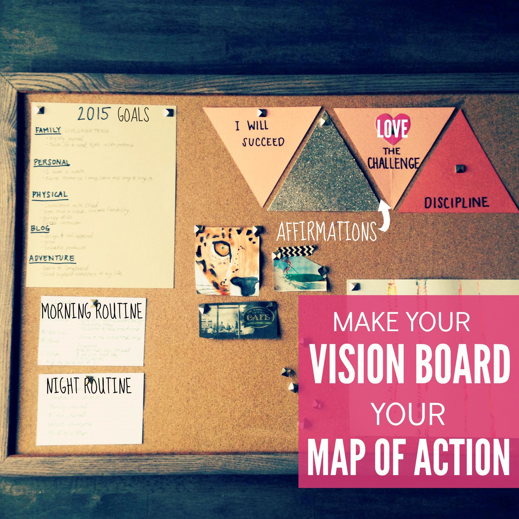 Learn How To Create A Vision Board That Enhances Your