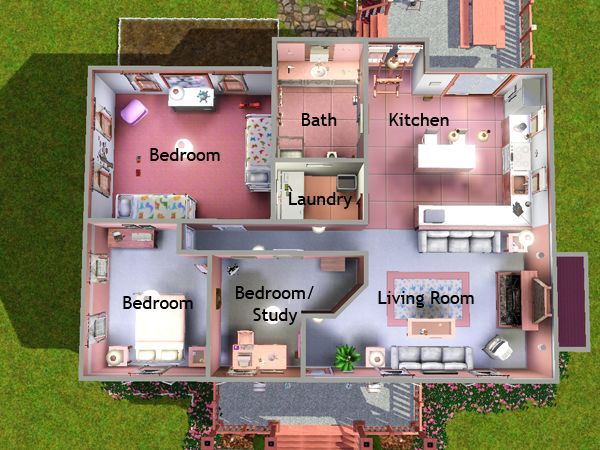 Sims 2 Pets Home Layouts House Style Pinterest Sims Pets