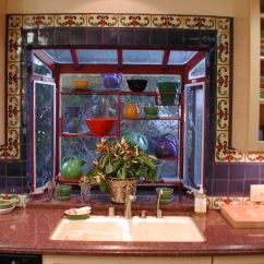 Mexican Backsplash Tiles Kitchen Aid Microwave South Wesst Tile Designs Has A Great Use