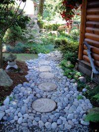 Magical river rock walkway | Pathways | Pinterest | Rock ...