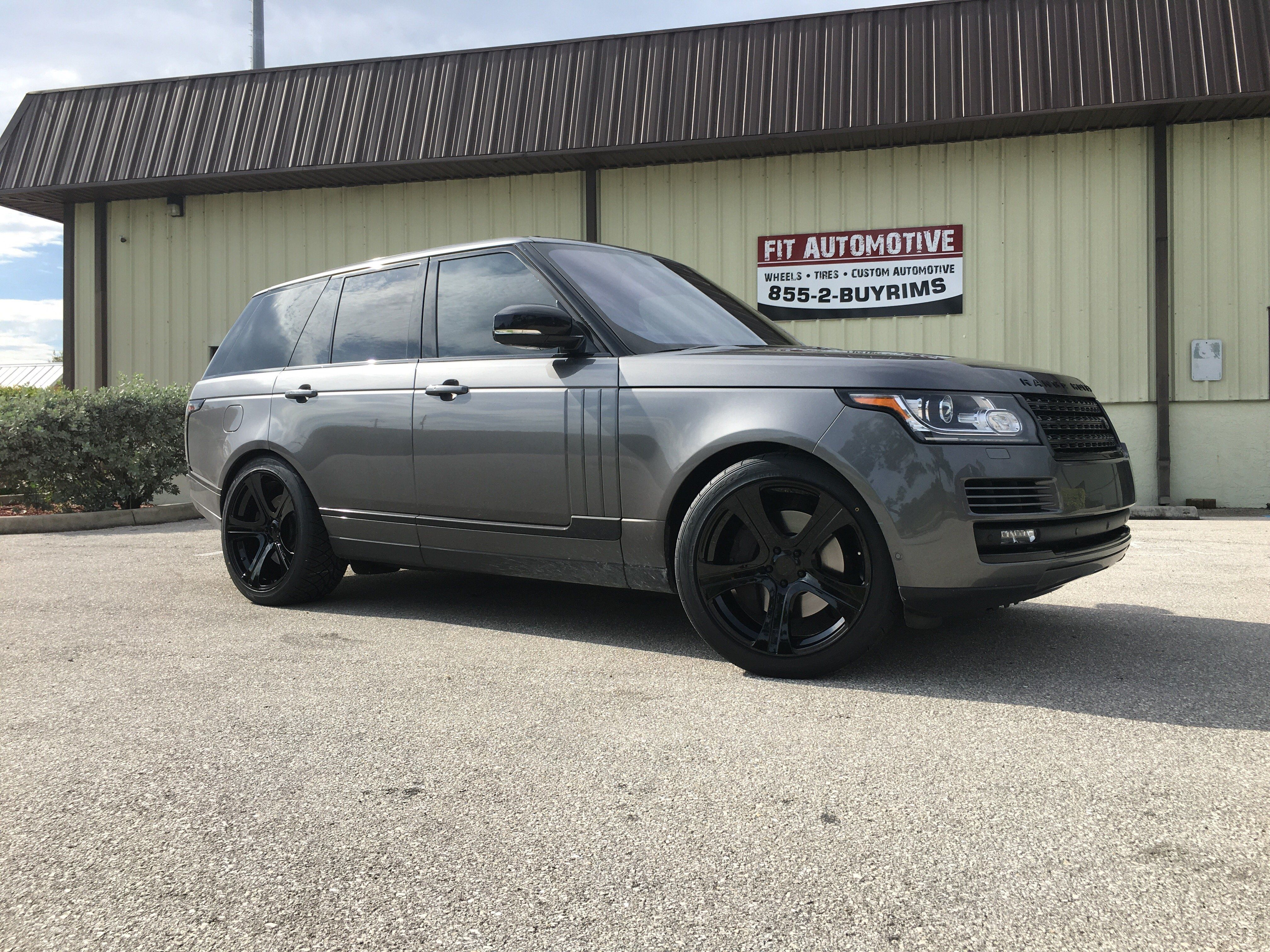 Range Rover with custom ordered VAD wheels from Avant Garde