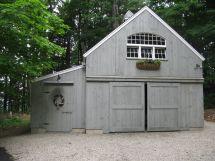 2 Story Barn Garage Plans
