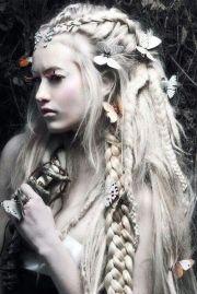 fairy hair braids fun cosplay