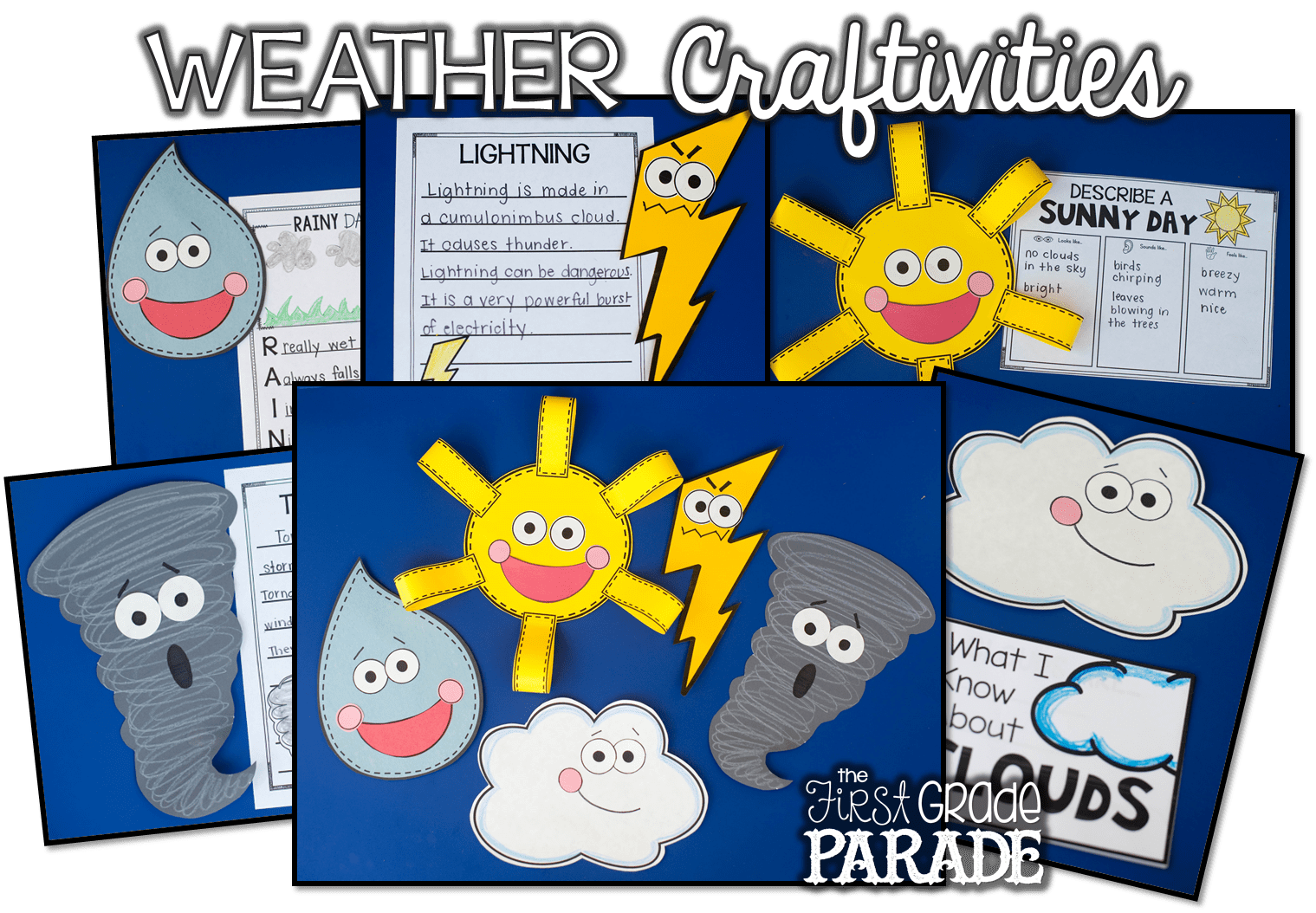 All About The Weather Activities Ideas
