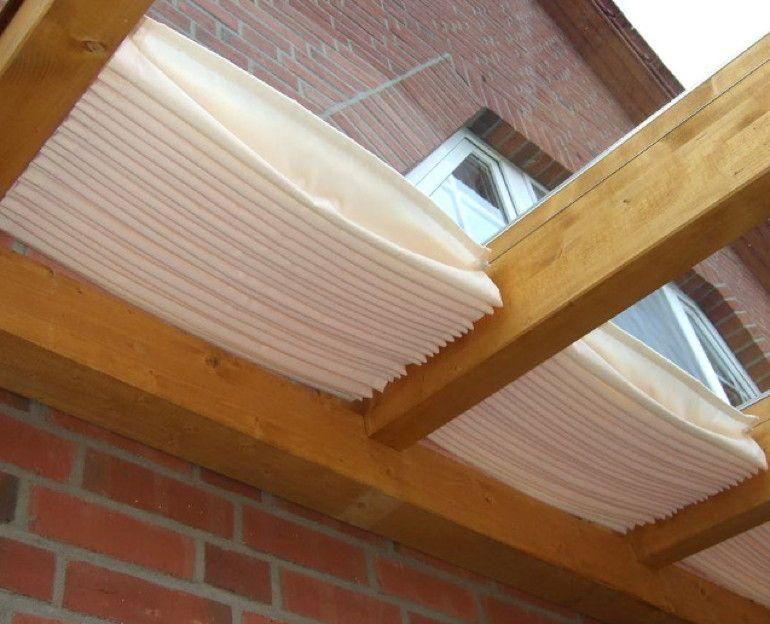 Glasdach Sonnensegel 61x220 Cm Uni Weiß Faltsonnensegel