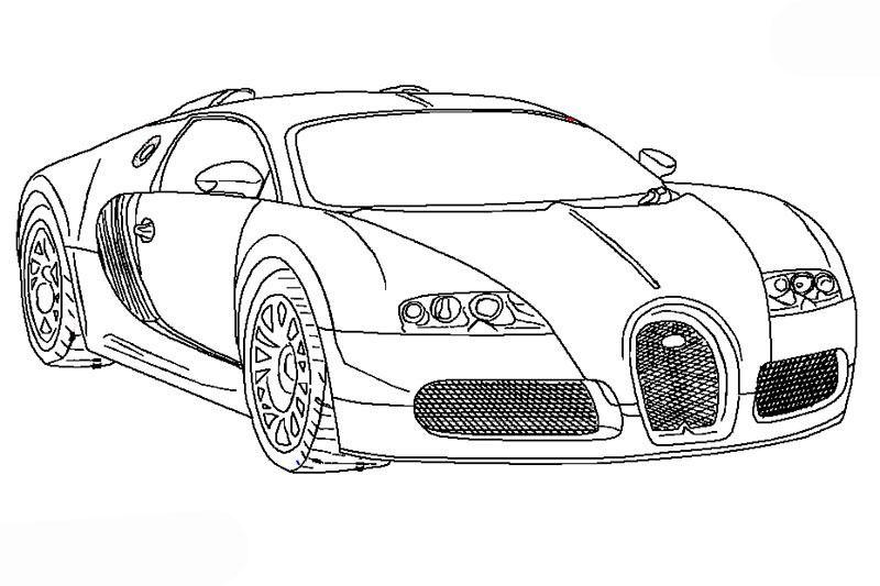 ausmalbilder bugatti veyron 471 Malvorlage Autos