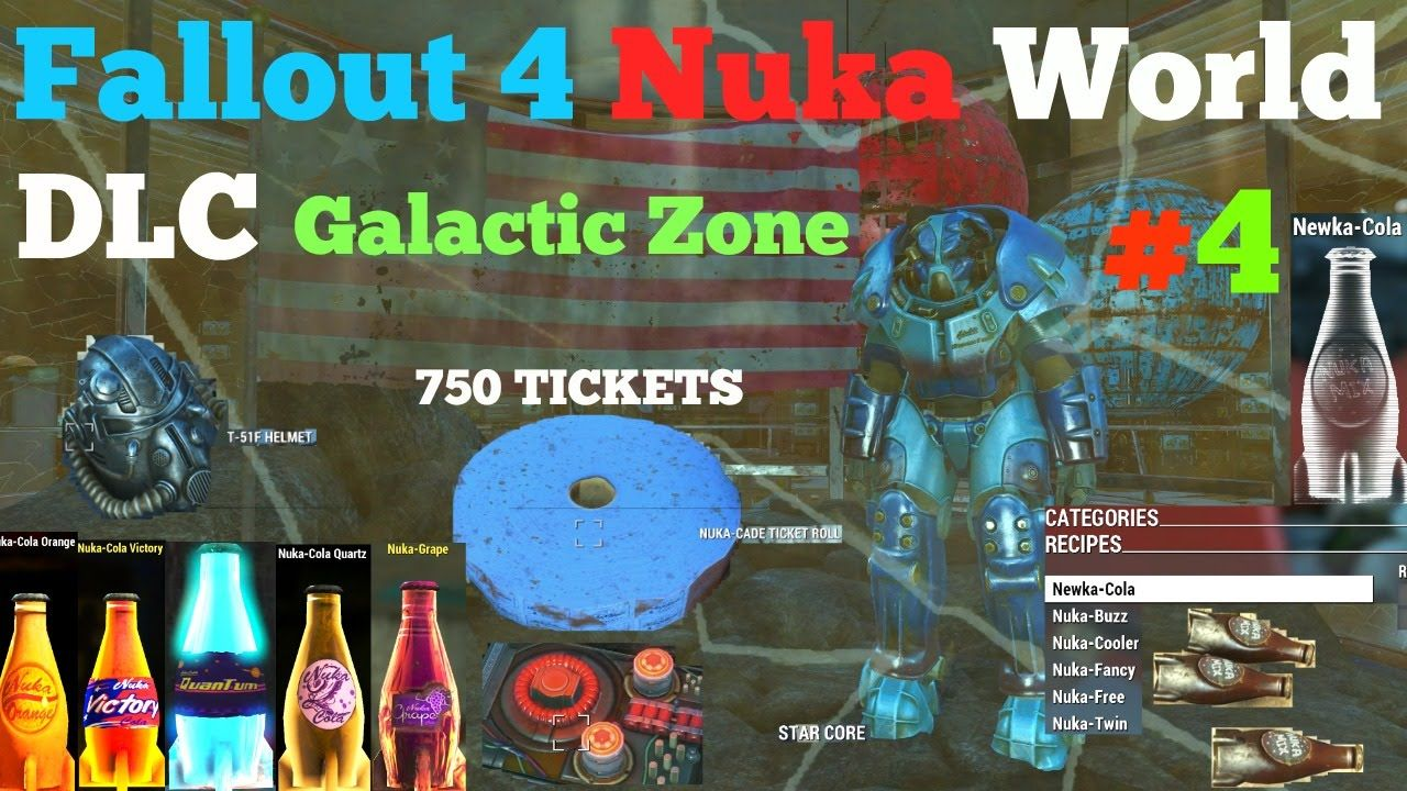 rare weapons fallout 4 nuka world
