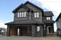 dark gray house exterior | Here are some photos! Oh and ...