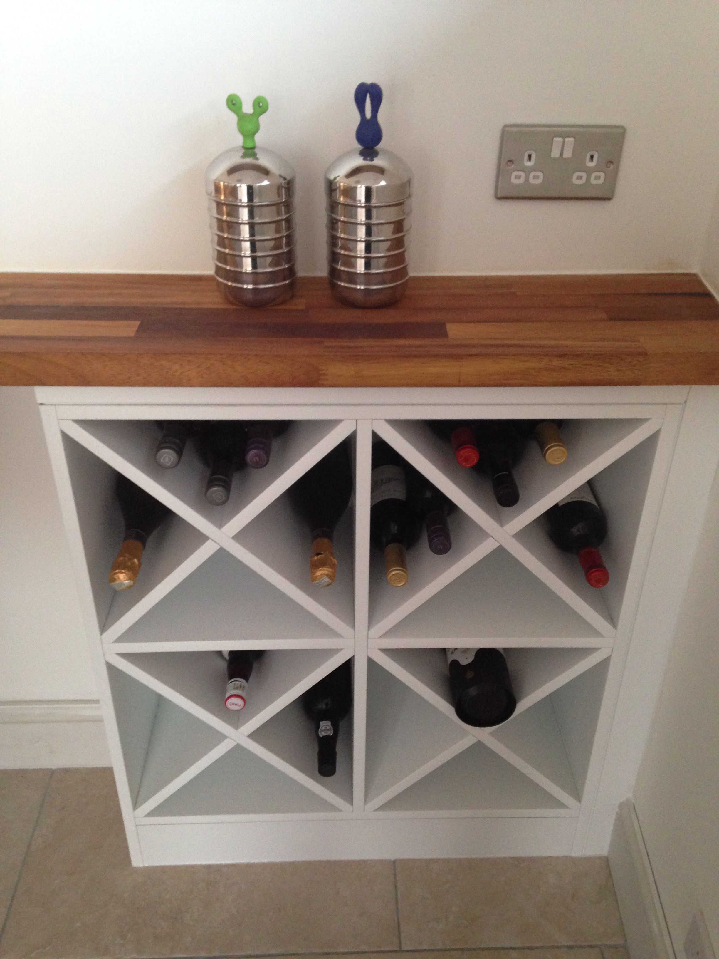 built in wine rack kitchen cabinets best place to buy a sink diy make two of these on either side and one