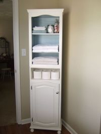 color linen cabinet for small home and large bedroom or ...