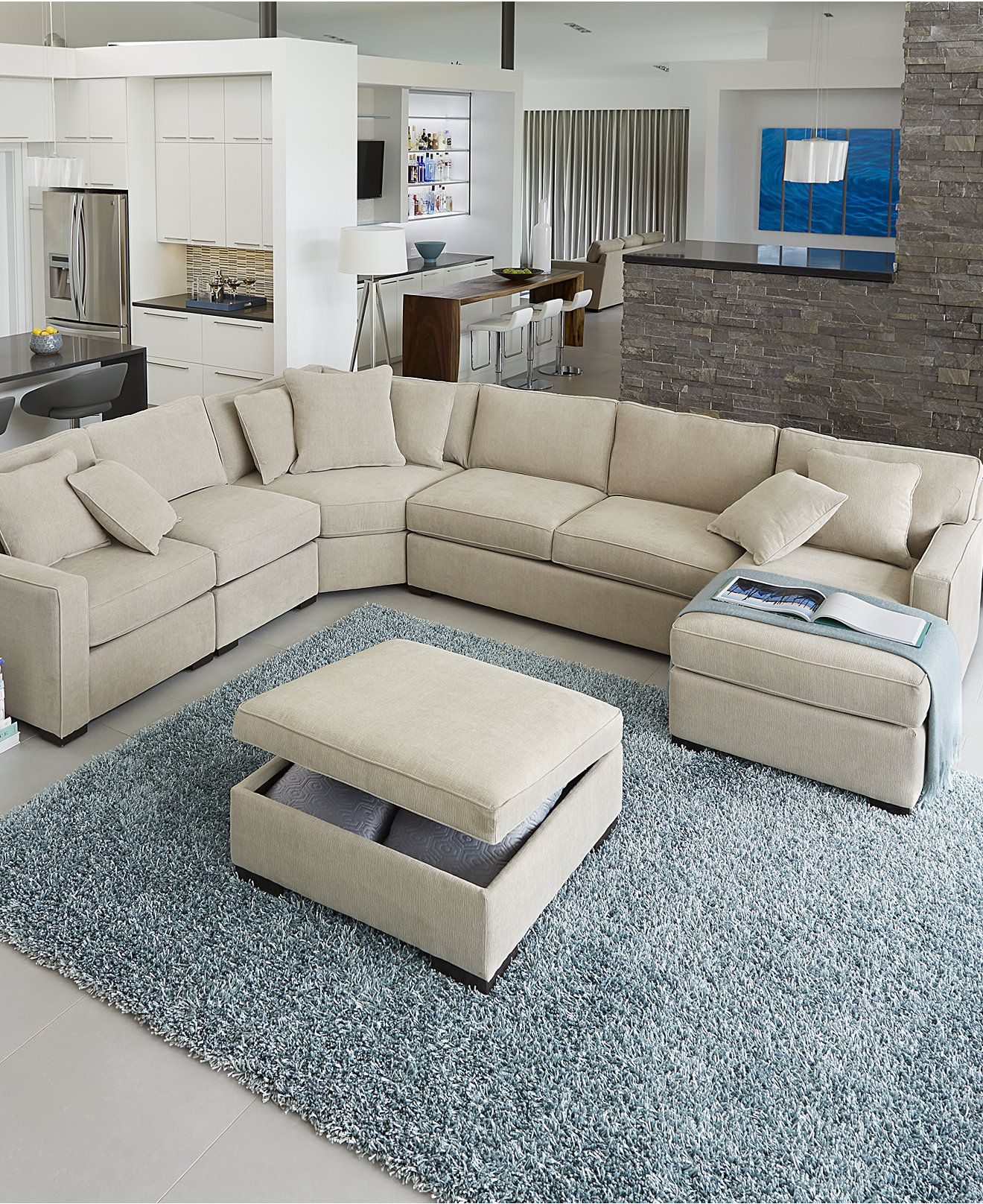 leather or fabric sofa for family room under 6000 radley sectional collection created macy