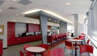 Stylish and Relaxing Break Room Interior Design of NetApp