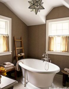 ways to make any bathroom feel like an at home spa also house rh pinterest