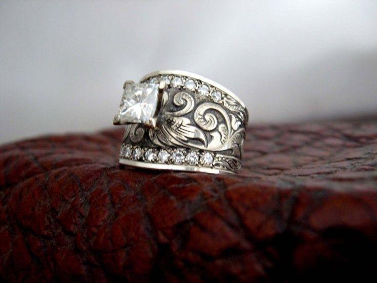 Custom Western Wedding Rings Custom Wedding Rings