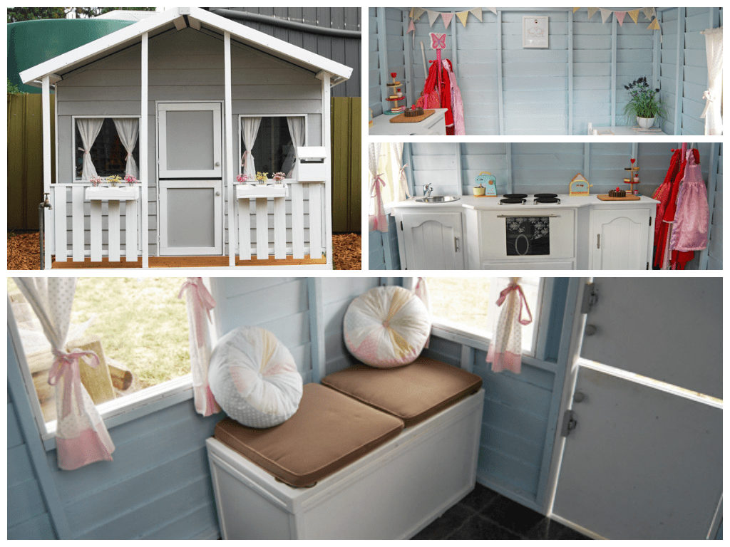 Cubby House Paint Scheme's & Design Tips Cubby Houses House And