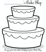 Design your own cake http://www2.crayola.com