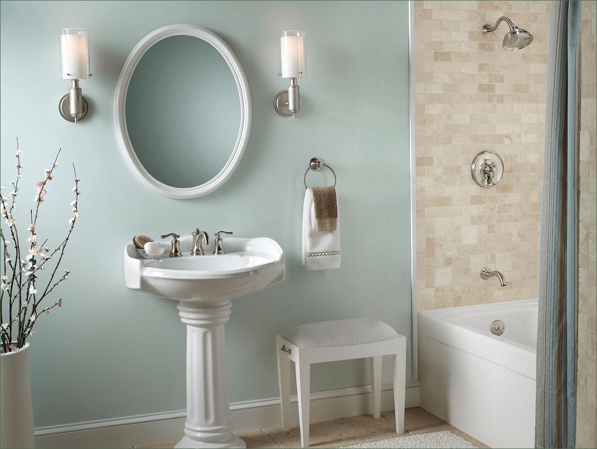 English Country Bathroom Design Idea