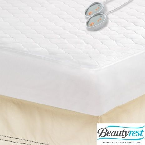 Beautyrest King Size Heated Electric Mattress Pad