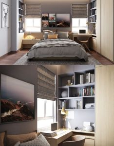 Home designing  via grey bedrooms ideas to rock  great also rh za pinterest