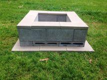 Diy Fire Pit Used 26 - 18x6x2 Flats 8 Cinder Blocks