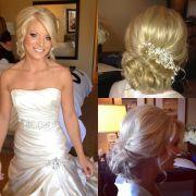 blonde bridal hair ideas