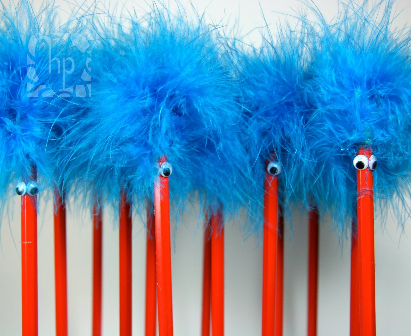Ideas For Dr Seuss Birthday Thing 1 Thing 2 Pencil