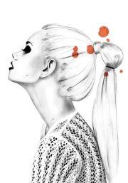 stylish fashion illustration
