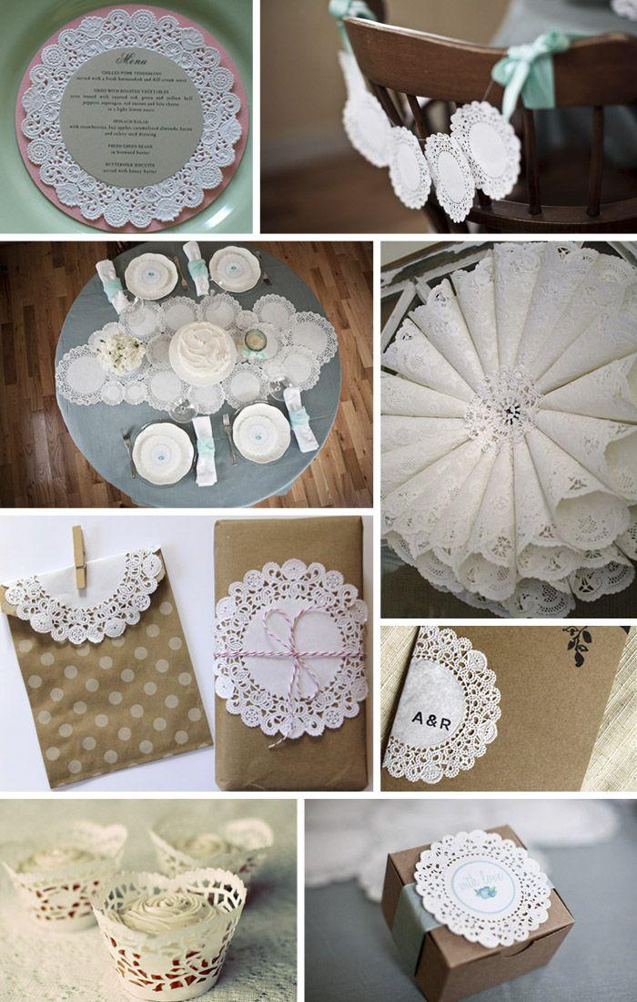 Vintage Style Bridal Shower Invitations
