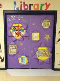 Library doors for the book fair! | Book Fair | Pinterest ...