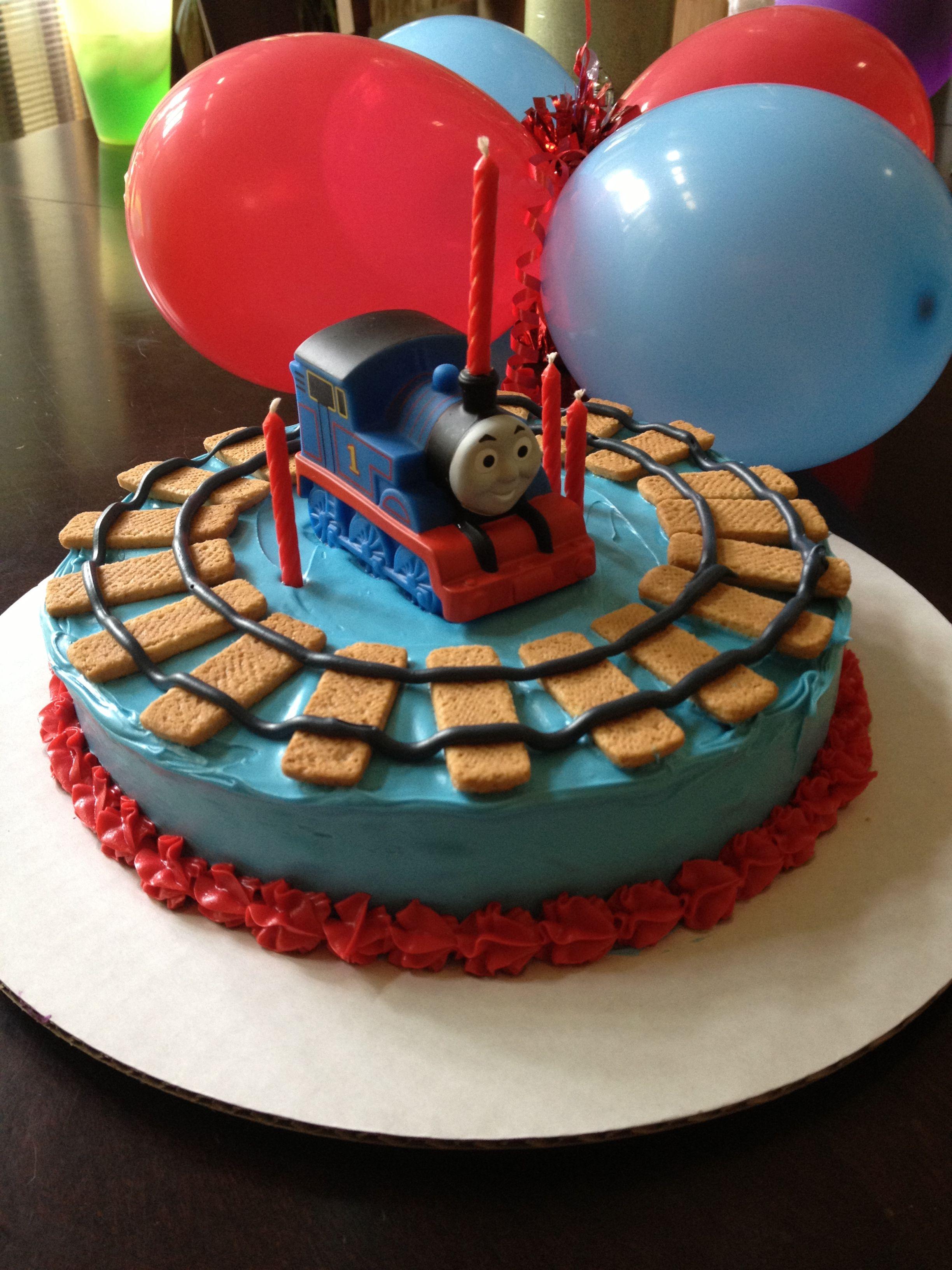 Thomas The Train Birthday Cake I Usually Shy Away From A