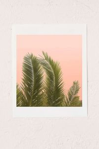 Wilder California Golden Palm Tree Art Print - Urban ...