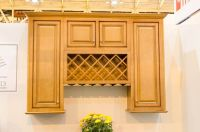 New Windsor Wall Cabinet Display with Wine Rack