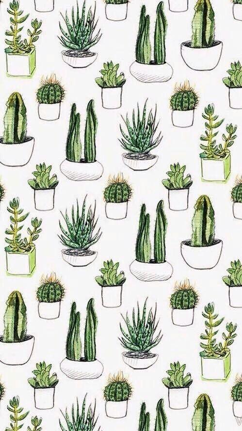 Background Fondos Green Pattern Plants Sfondi Tumblr